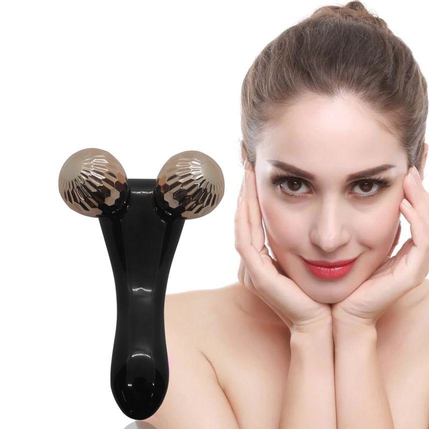 Massageador Facial e Corporal Manual Ciclo Linfatico Saude e Beleza Portatil