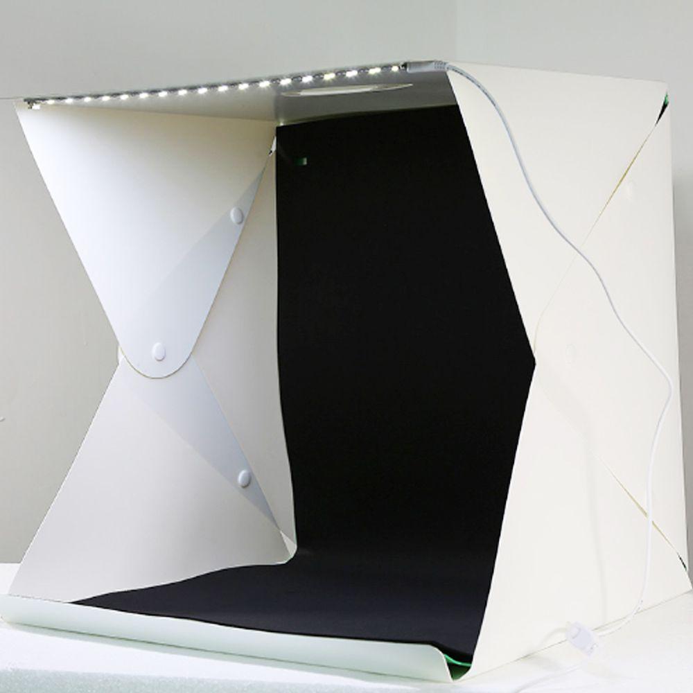 Mini Estudio Fotografico Caixa de Foto LED Profissional Youtuber Produtos Comercio Empresa Light Box Still