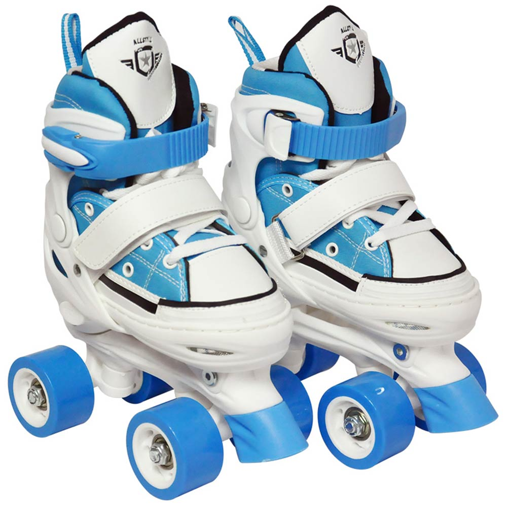 Patins 4 Rodas Ajustavel Tenis All Style Roller 33 ao 36 Retro Azul (DMR5165)