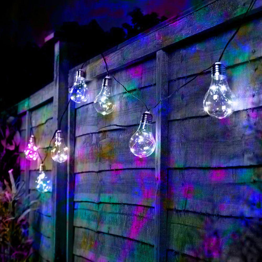 Pisca Pisca Led Lampada Bocal Natal Festa Natalino Usb Pilha 3 metros RGB