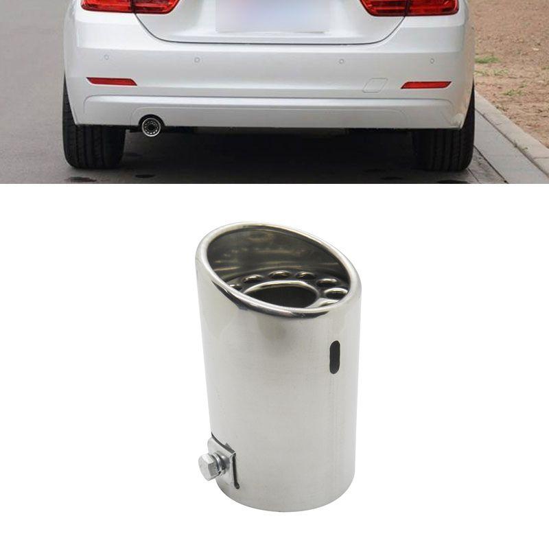 Ponteira Cromada Automotiva Aço Inox Carro Escapamento Universal