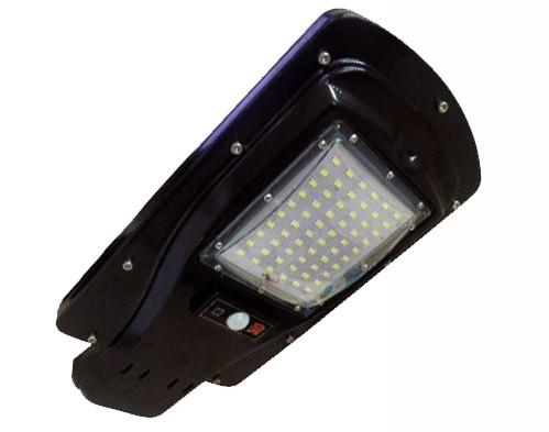 Refletor Luminaria Solar Para Poste 30W Led Com Sensor Controle Remoto (Zem-31419)