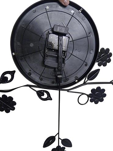 Relogio de Parede Com Pendulo Vintage Decorativo Retro