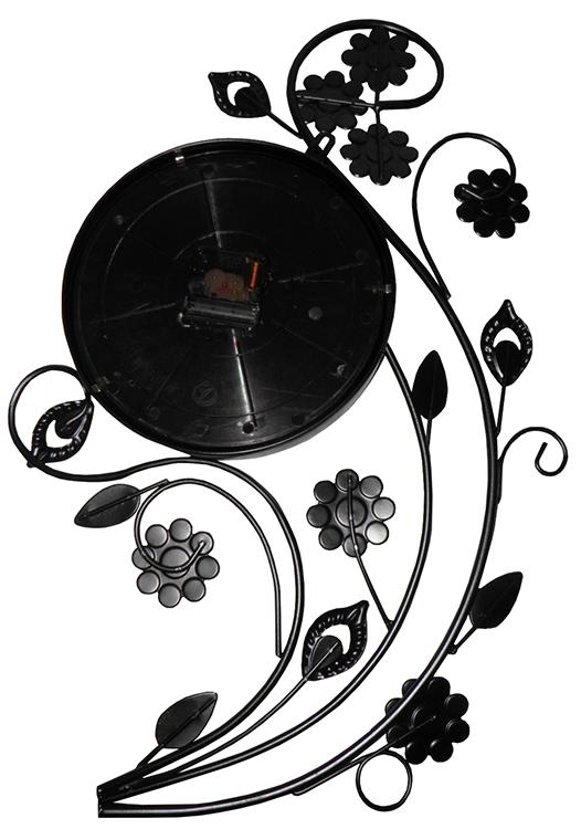 Relogio De Parede Retro Vintage Roses Grande Para Decoracao