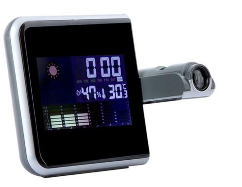 f8d4737e5b1 Relogio Projetor Hora Desperta Mede Temperatura Led (DS-8190   BSL-REL-53)  - Ideal Importados