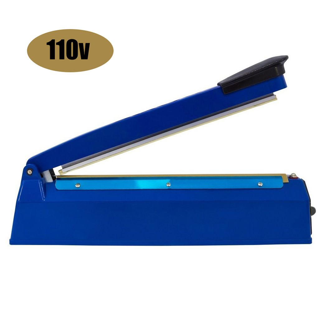 Seladora Manual 20 CM Sela Embalagem Termica Eletrica Alimentos 110v 300w