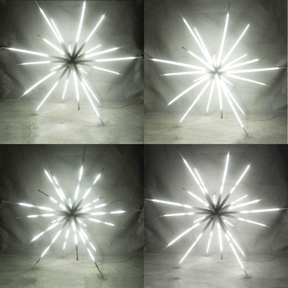 Sputnik Estrela 400 Leds Luz Ourico Natal Festa Dj Eventos Aniversarios Bivolt