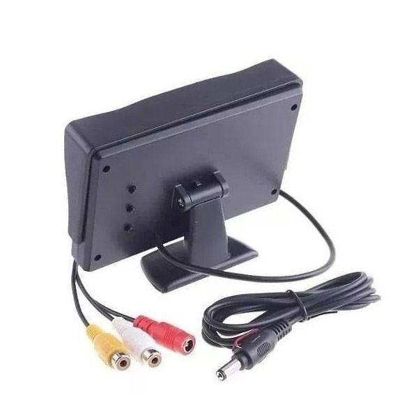 Tela Monitor Veicular Automotivo Camera Re Dvd 4.3 Video Lcd