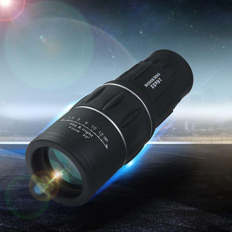 Telescópio  Monóculo Tático 16x52 a prova d'agua Luneta  Alcance  Zoom Profissional