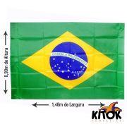 Bandeira do Brasil Grande 0,90m x 1,48m
