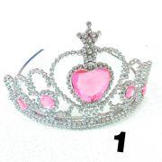 Coroa Princesa Dobrável 5 Unidades