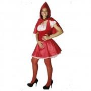 Fantasia Chapeuzinho Vermelho - Adulto