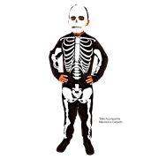 Fantasia Esqueleto Longo - Infantil