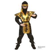 Fantasia Ninja Amarelo - Infantil