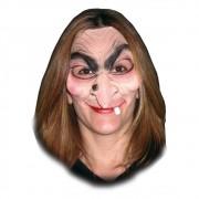 Máscara Bruxa Meia Máscara