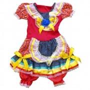 Vestido Caipira Josélia Festa Junina - Infantil