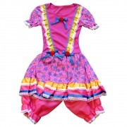 Vestido Caipira JuJu Festa Junina - Infantil