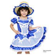 Vestido Caipira Orquídea - Infantil