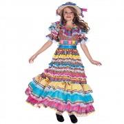 Vestido Caipira Valeria Prenda Festa Junina - Infantil