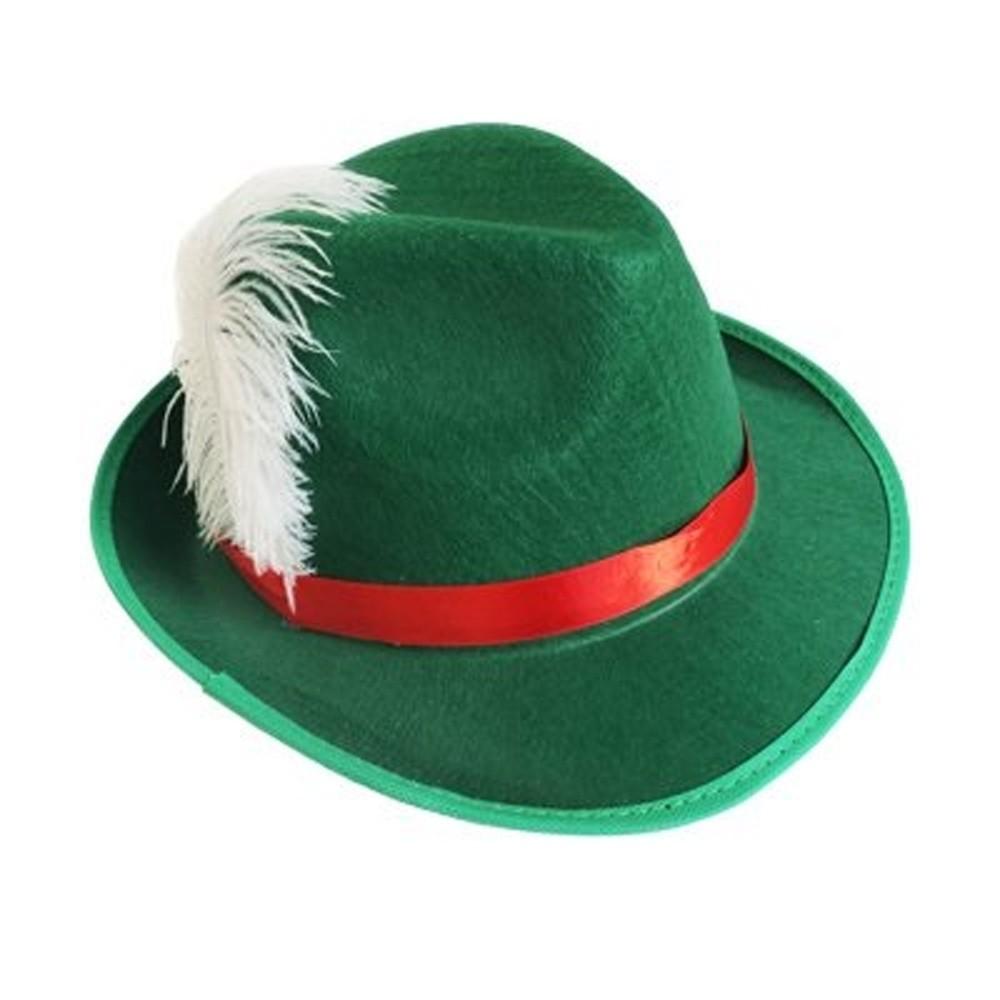 Chapéu Alemão Verde Camurça