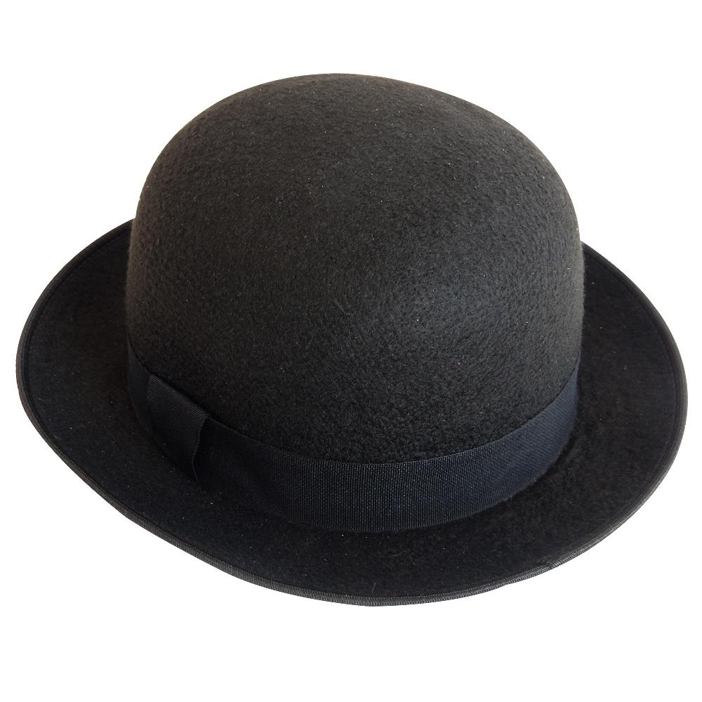 Chapéu Coco Charlie Chaplin em Feltro Luxo