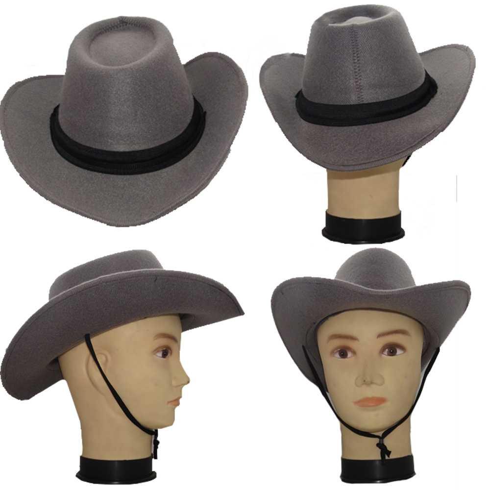 Chapéu Country/Cowboy Pluminha - Adulto
