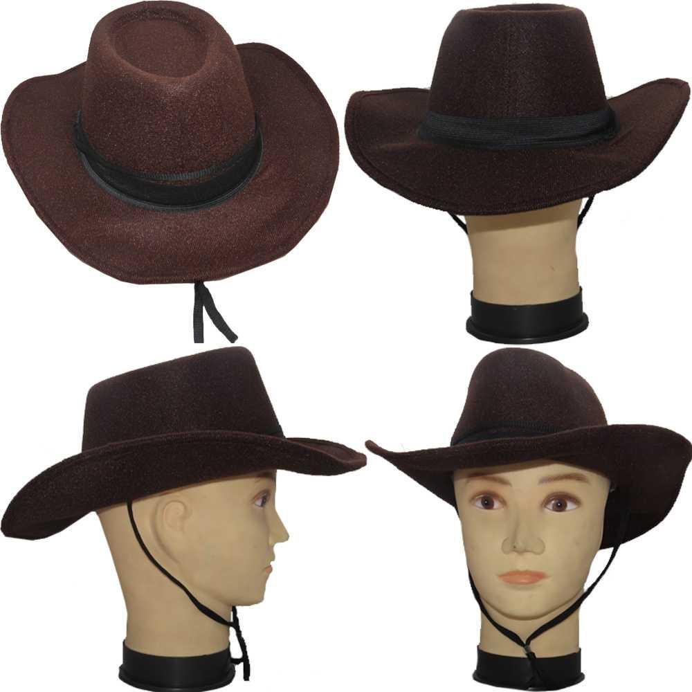 ... Chapéu Country Cowboy Pluminha - Infantil - Kitok Festas e Fantasias 18a8a727a1
