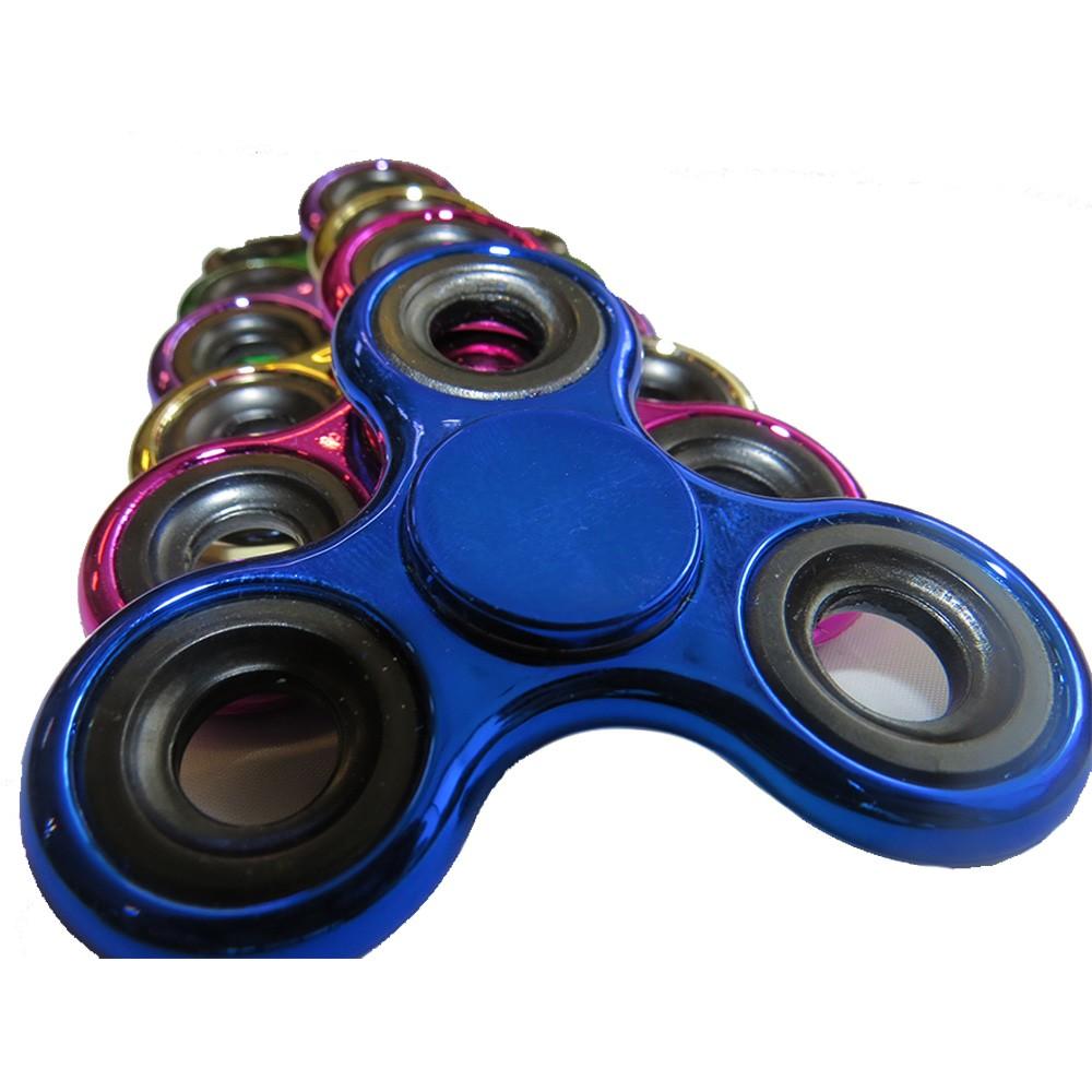 Hand Spinner Metalizado - Selo INMETRO