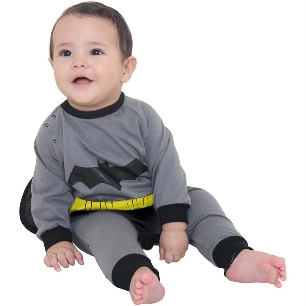 Fantasia Batman Macacão - Bebê
