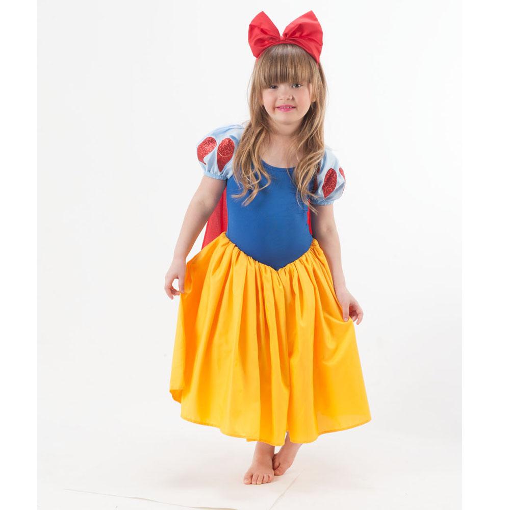 Fantasia Princesa Branca de Neve - Infantil