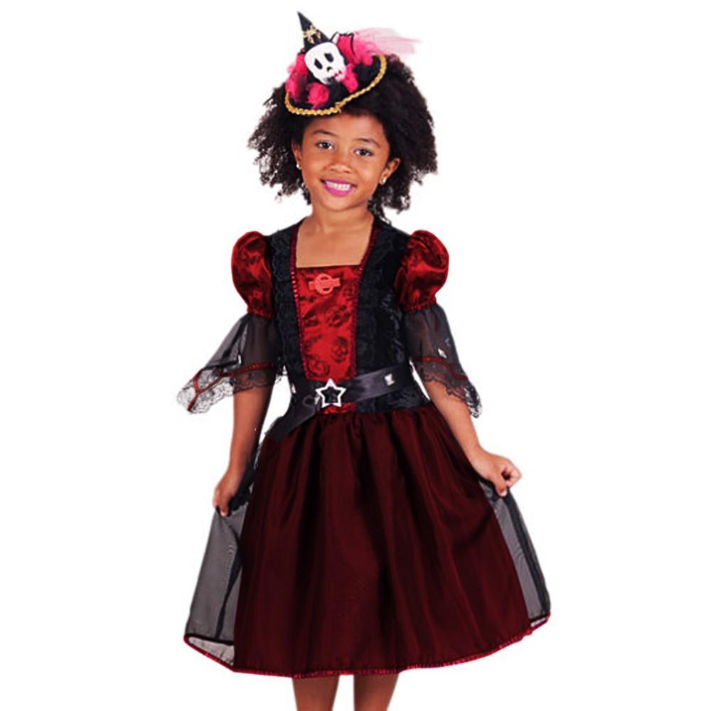 Fantasia Bruxa Melissa Infantil