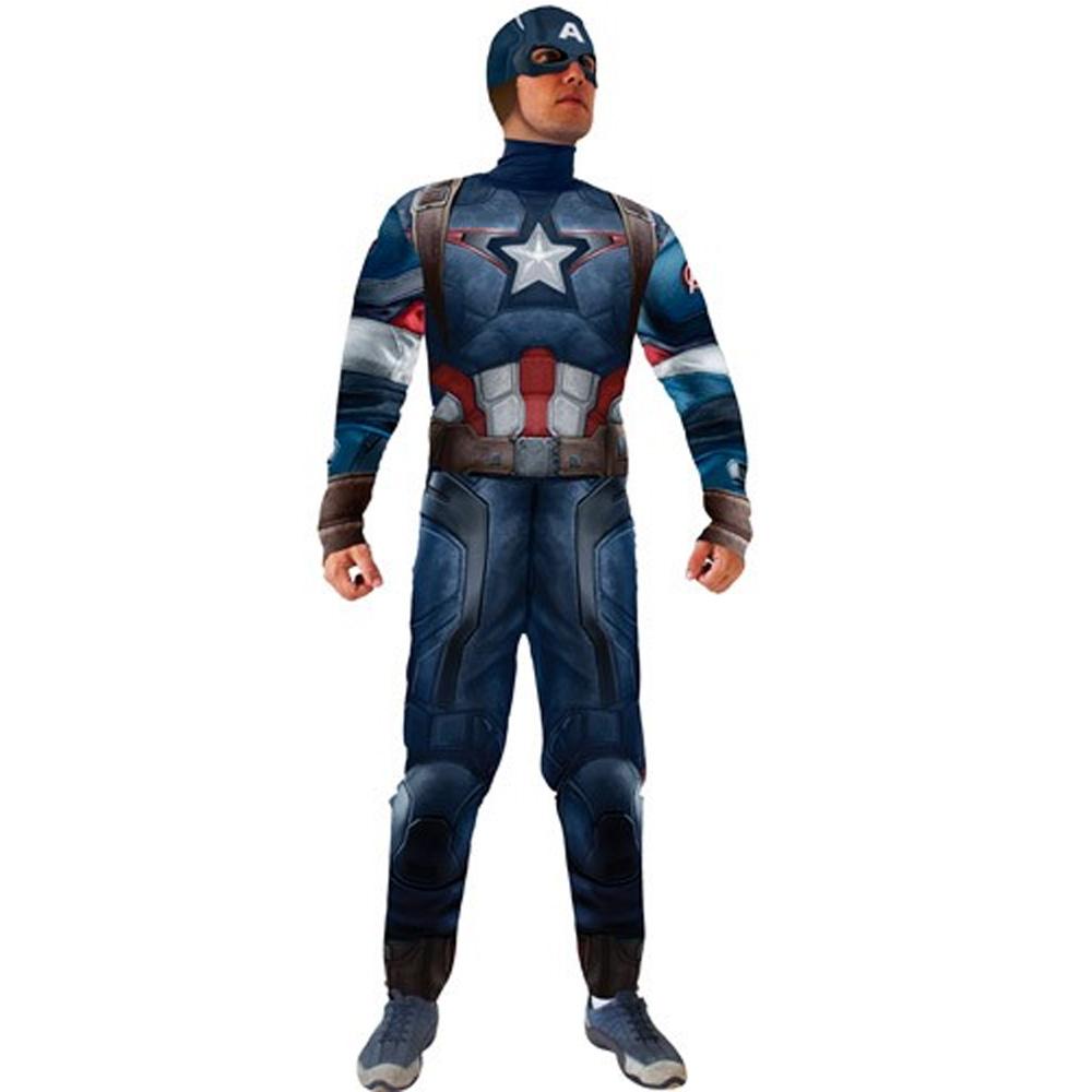 Fantasia Capitão America Vingadores - Adulto