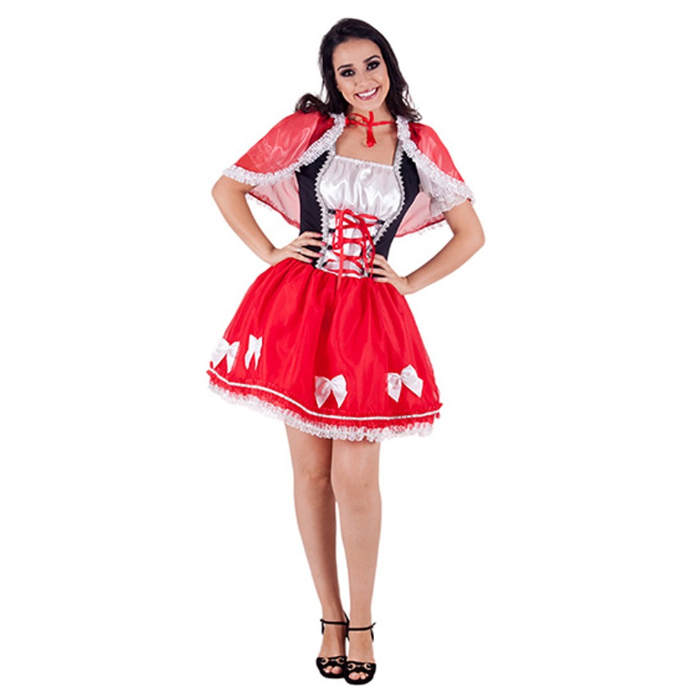 Fantasia Chapeuzinho Vermelho Almmy - Adulto