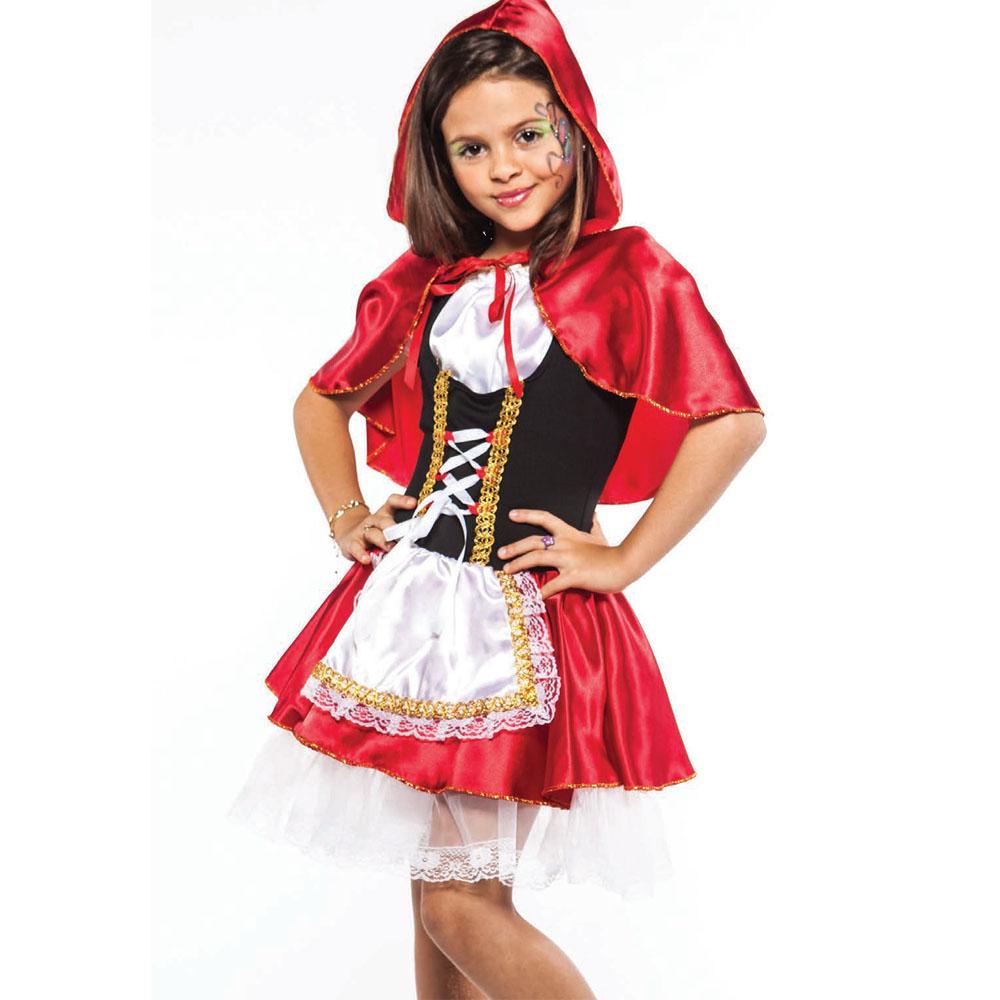 Fantasia Chapeuzinho Vermelho - Infantil