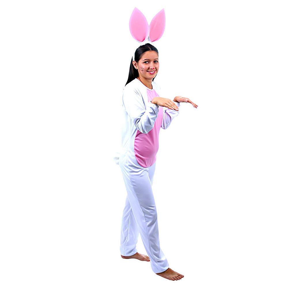 12d9702c7 Fantasia Coelha Branco Feminino - Adulto - Kitok Festas e Fantasias