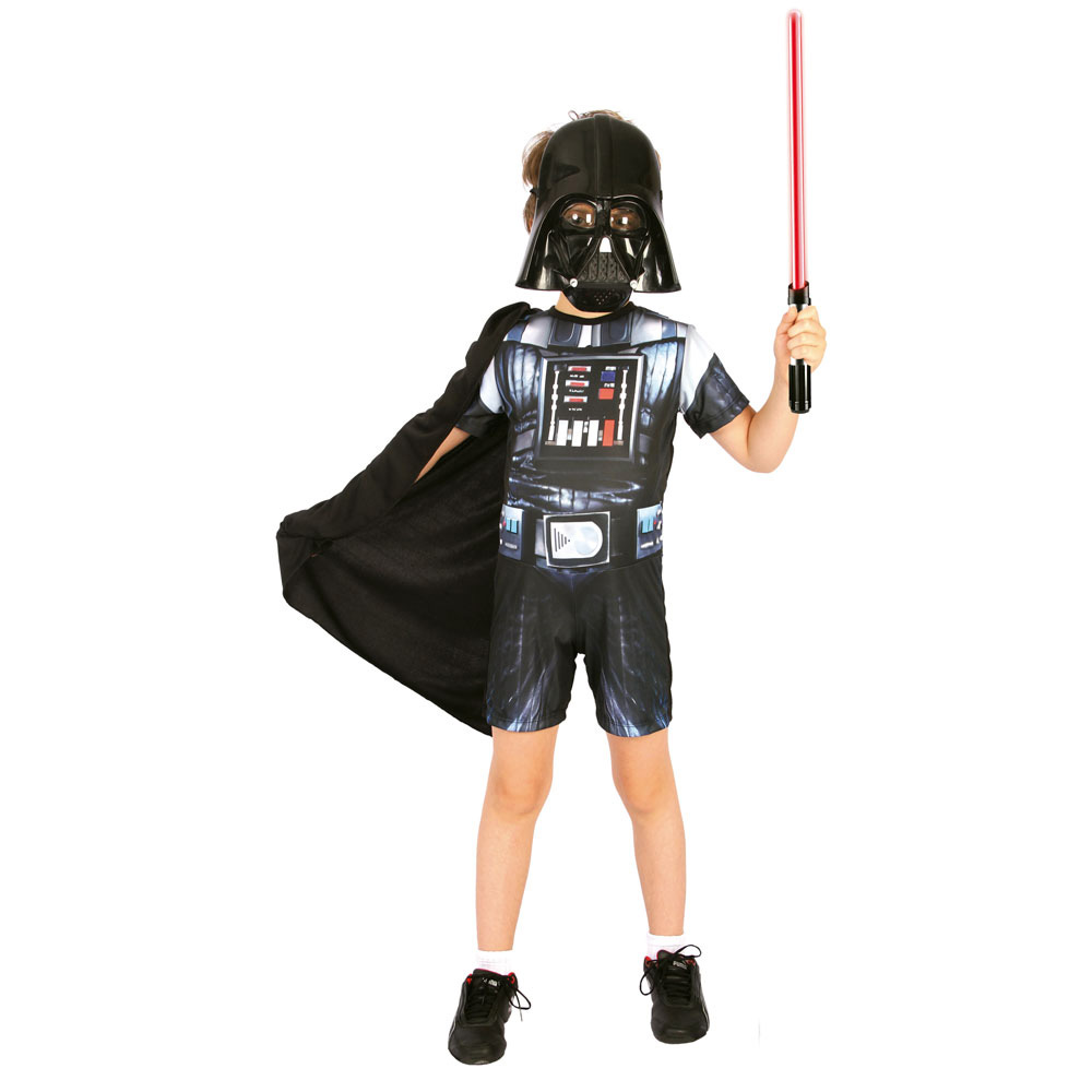 Fantasia Darth Vader Star Wars Curta - Infantil