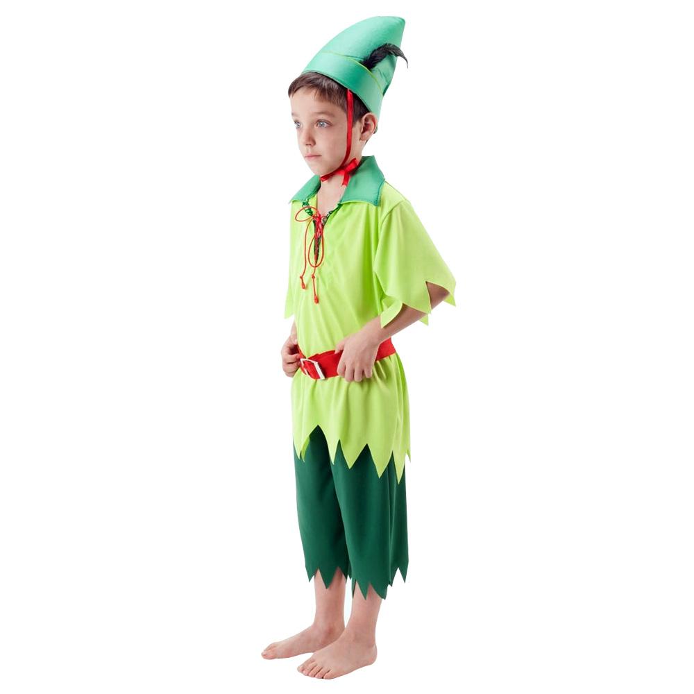 Fantasia Duende Peter Pan - Infantil