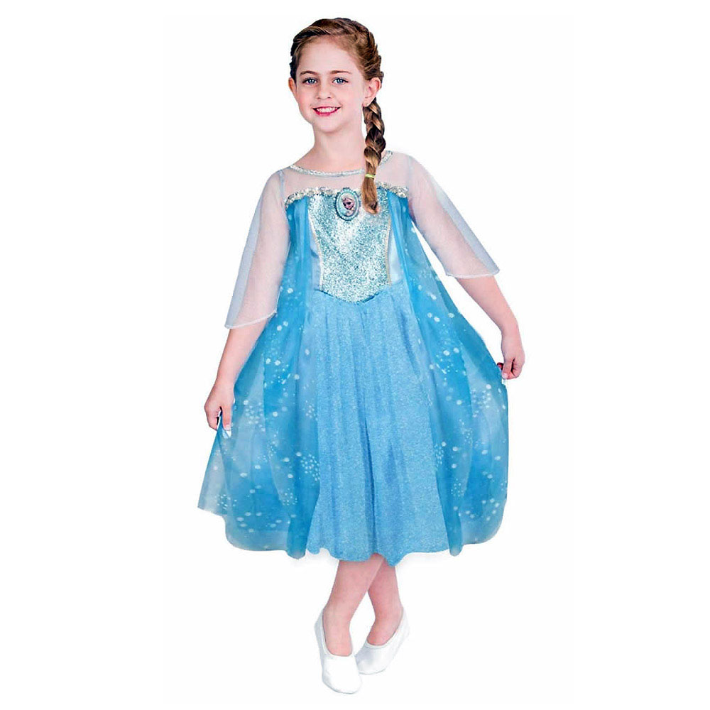 Fantasia Elsa Luxo Frozen - Infantil