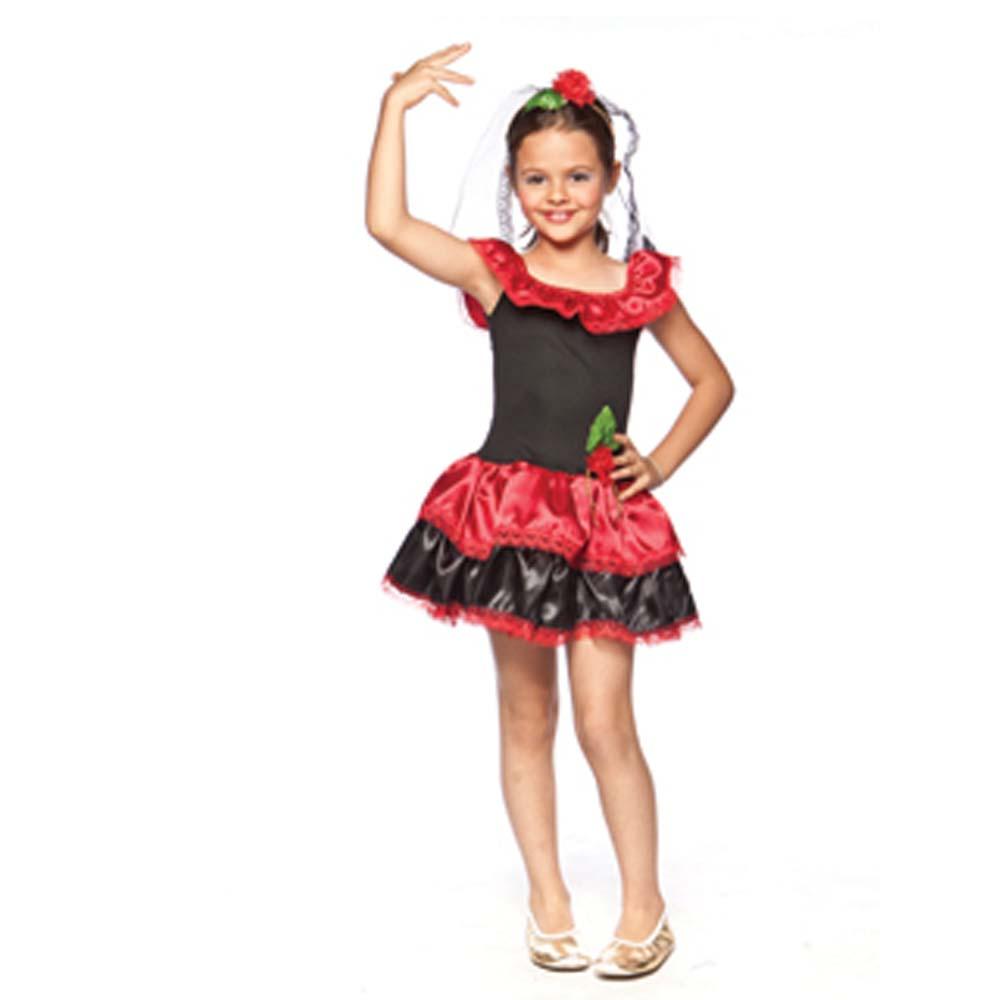 Fantasia Espanhola Rafaela - Infantil