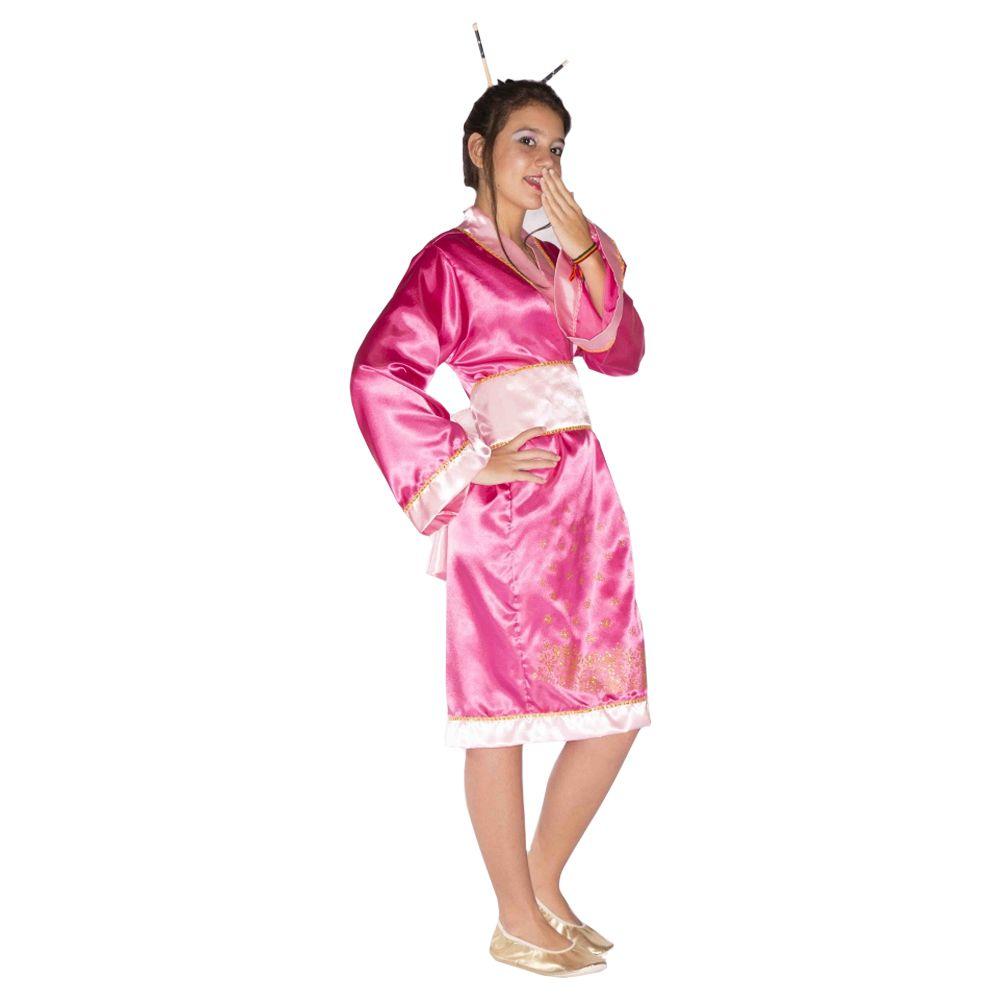 1d6df9aa9 ... Fantasia Gueixa Japonesa Yoko Infantil - Kitok Festas e Fantasias