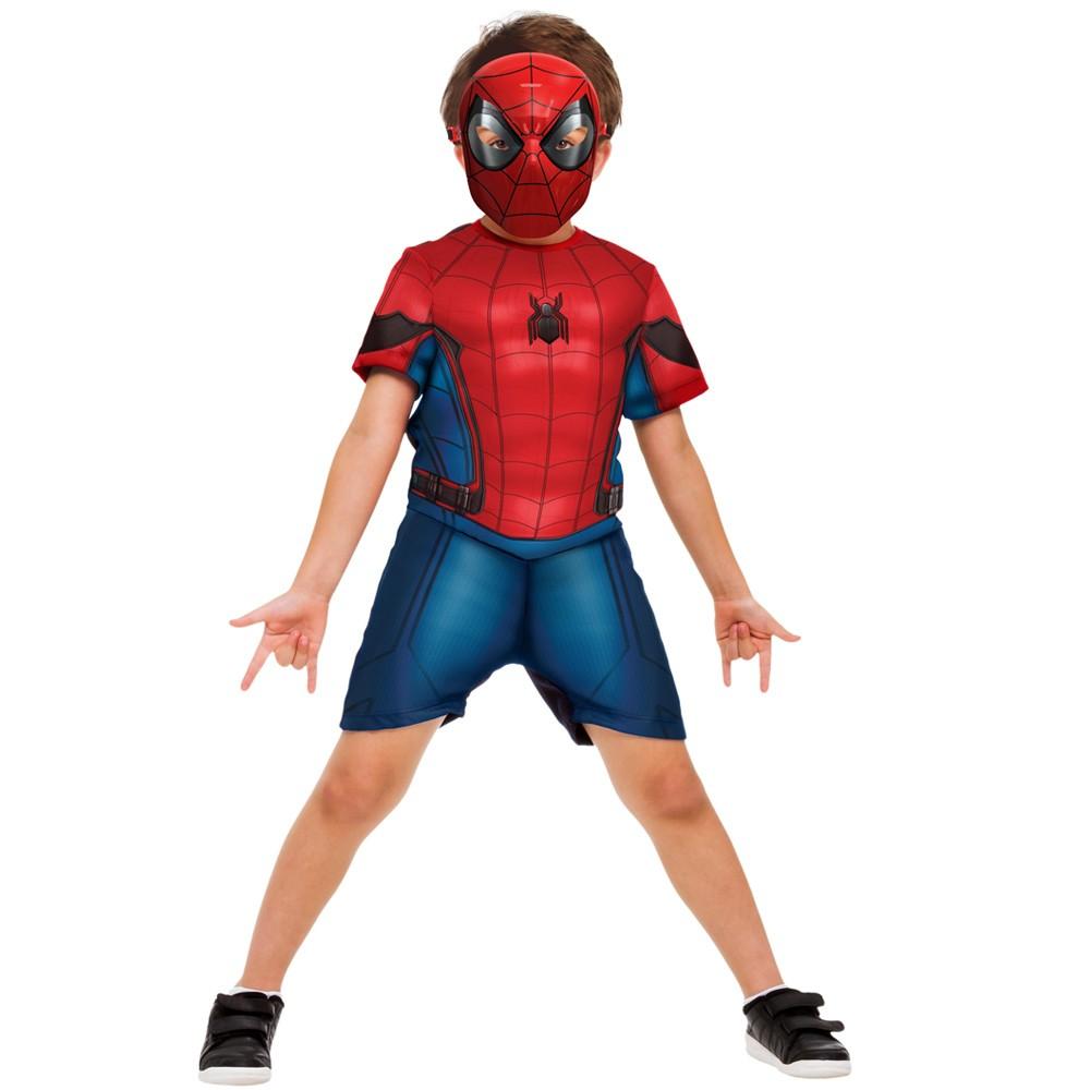 Fantasia Homem Aranha HomeComing Curto - Infantil