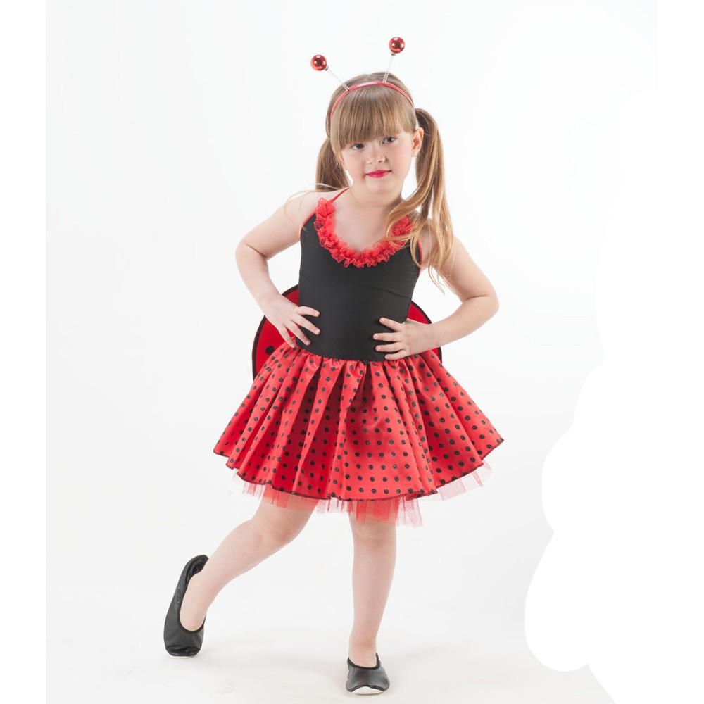 Fantasia Joaninha - Infantil