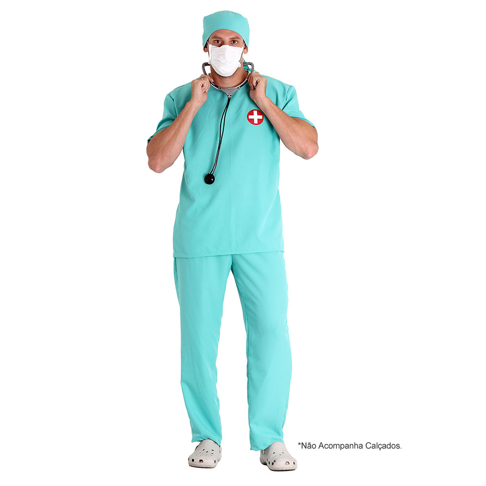 Fantasia Médico - Adulto