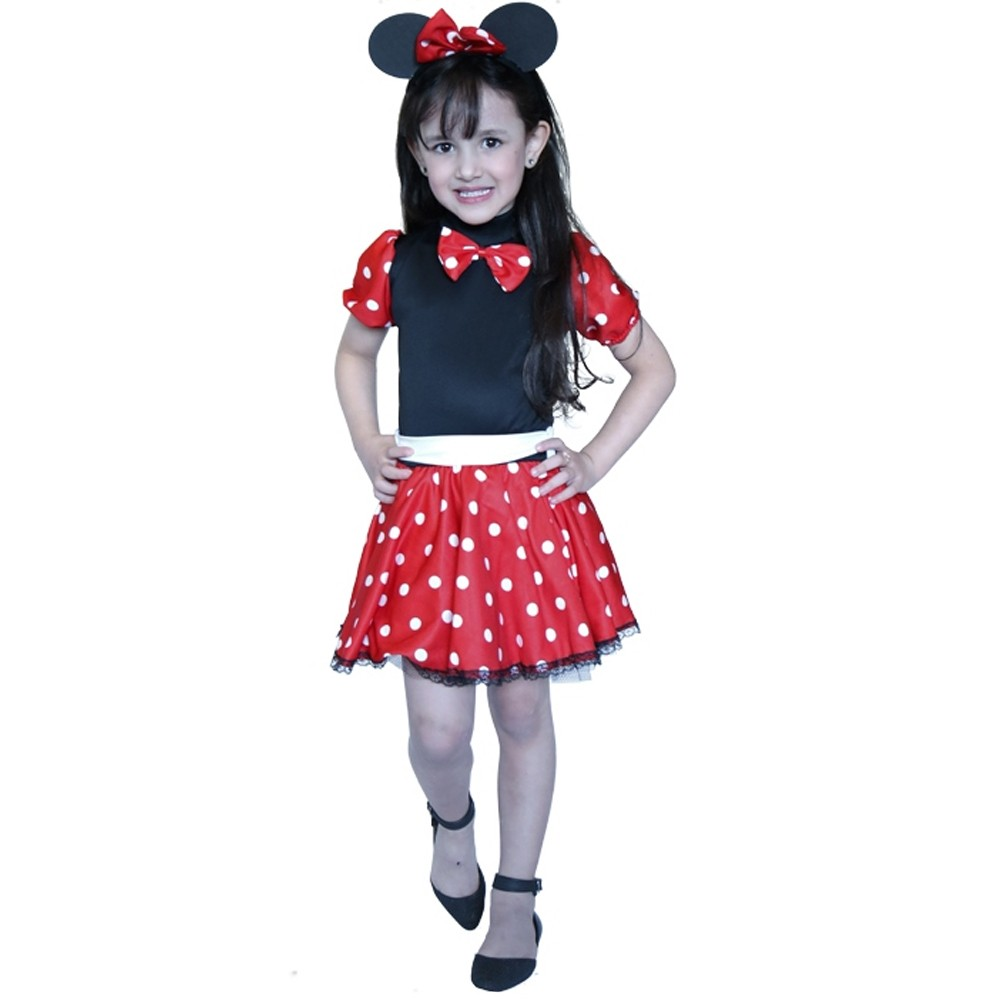 Fantasia Minie Ratinha - Infantil