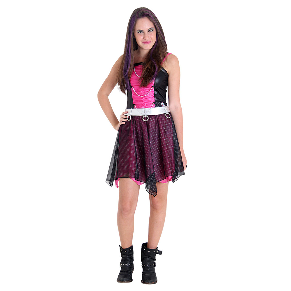 Fantasia Monster High Spectra Luxo - Infantil