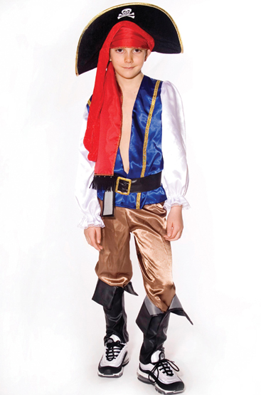 Fantasia Pirata Jack - Infantil