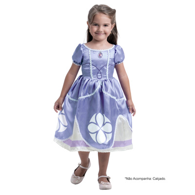 Fantasia Pop Princesa Sofia Disney - Infantil