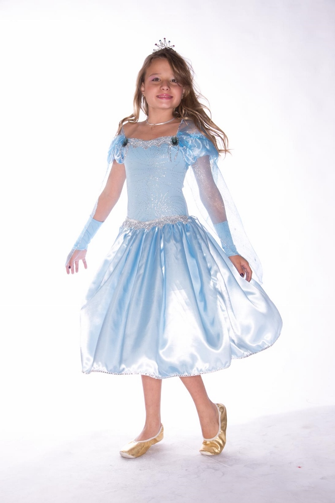 Fantasia Princesa do Gelo Glace - Infantil