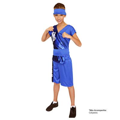 Fantasia Samurai Azul - Infantil