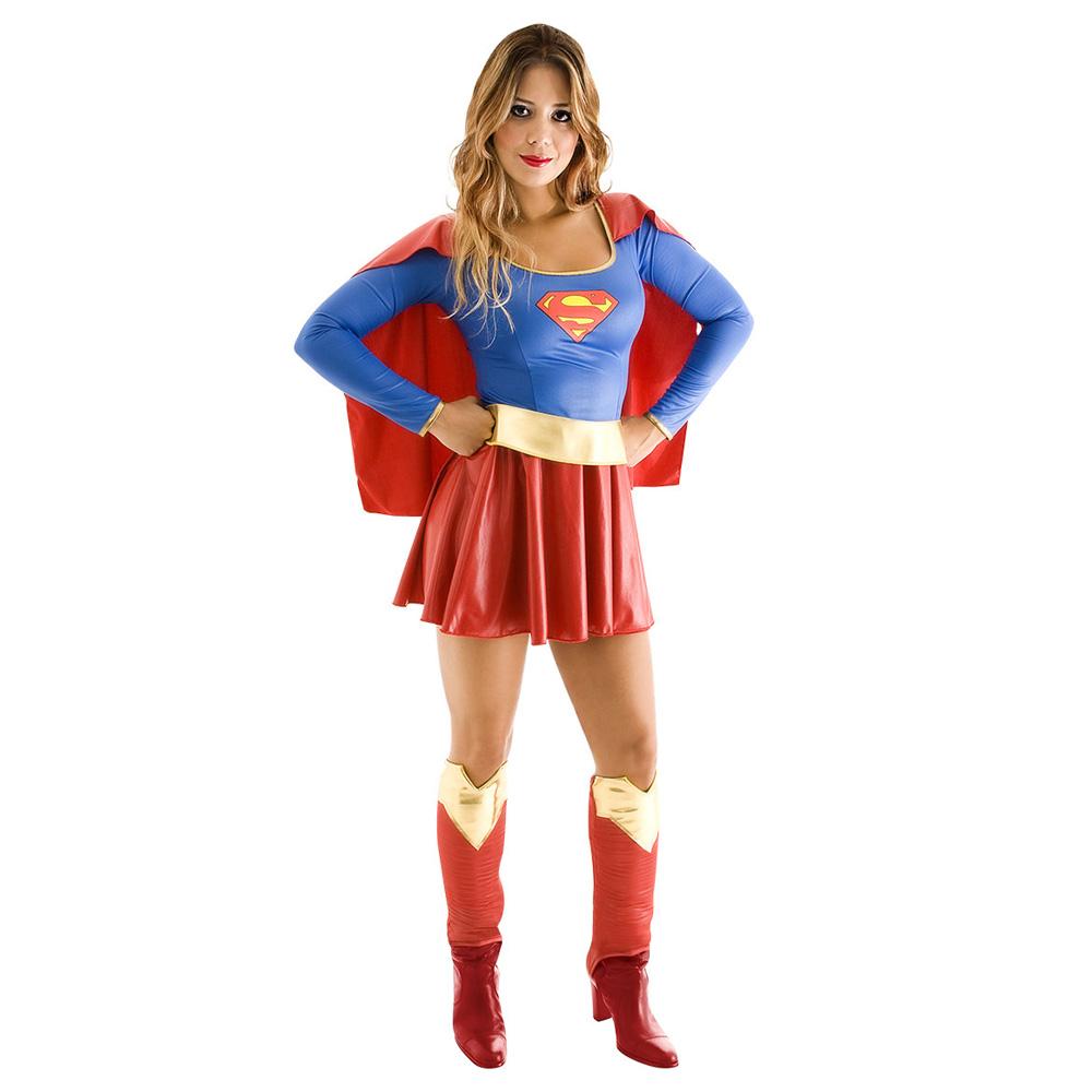 Fantasia Super Mulher - Heat Girls - Adulto